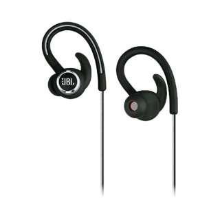 ブルートゥース イヤホン 耳かけ型 REFCONTOUR2 ブラック JBLREFCONTOUR2BLK [リモコン・マイク対応 /ワイヤレス(左右コード) /Bluetooth]