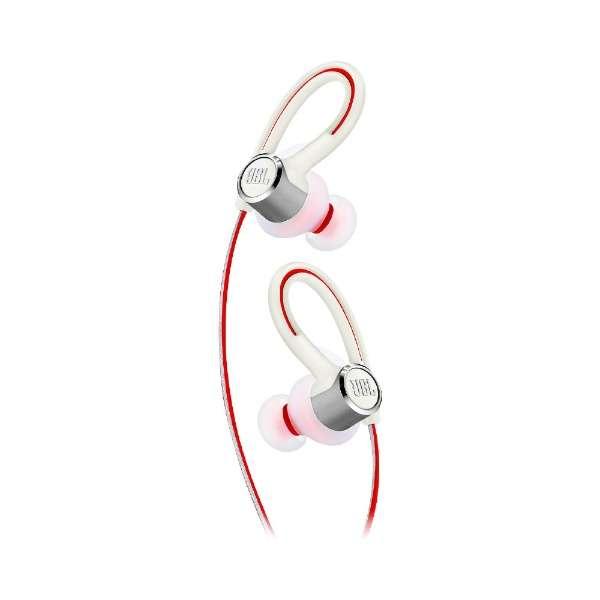 ブルートゥースイヤホン 耳かけカナル型 Reflect Contour 2 JBLREFCONTOUR2WHT ホワイト [防滴 /Bluetooth]