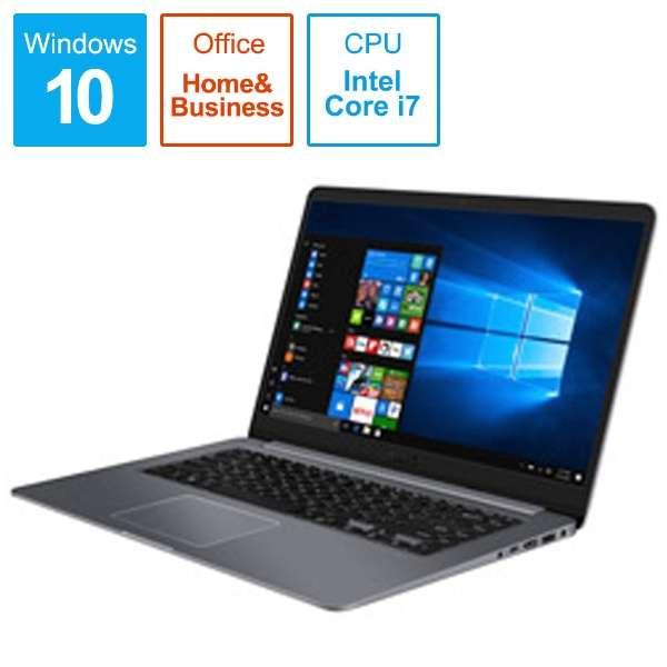 VivoBook S15 ノートパソコン S510UA75GRS [15.6型 /intel Core i7 /HDD:1TB /メモリ:8GB /2018年3月モデル]