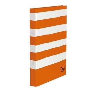 [ファイル]フィンダッシュ リングファイル(A4-S、2穴、110枚収容) FINN-7225-53 パンプキン