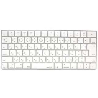 キースキン Magic Keyboard用 キーボードカバー BEFiNE BF7346MK ホワイト