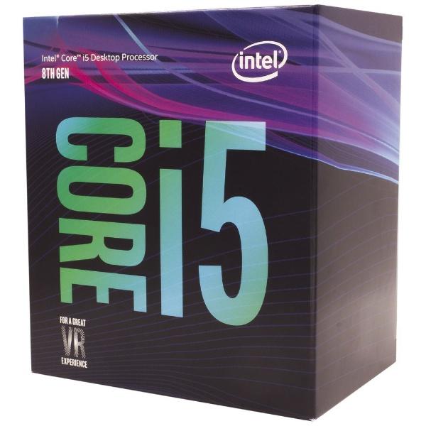 Core i5 8500 BOX 製品画像