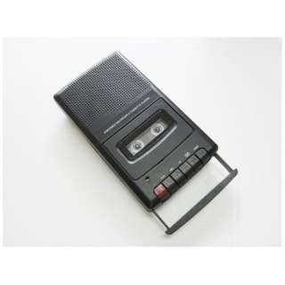 ポータブルカセットレコーダー ブラック CRB-708