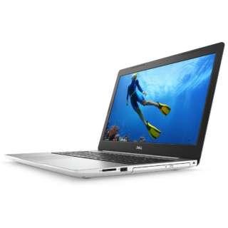 NI85-8HHBW ノートパソコン Inspiron 15 5000 5575 ホワイト [15.6型 /AMD Ryzen 7 /SSD:512GB /メモリ:16GB /2018年春モデル]