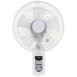 CKBR203 壁掛け式扇風機 ホワイト [リモコン付き]