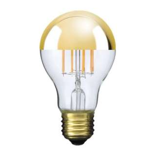 LDF41 LED電球 Siphon(サイフォン) クリア・ゴールドミラー [E26 /電球色 /1個 /40W相当 /一般電球形]