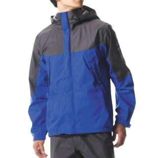 メンズ レインウェア ベルグテックEXストームセイバーVI レインスーツ(Lサイズ/ブルー) A2MG8A0125