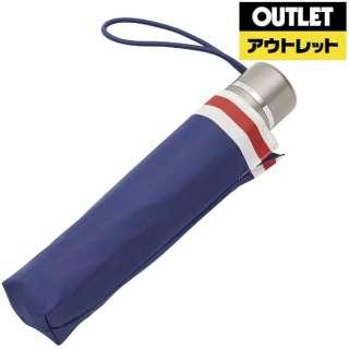 【アウトレット品】 折りたたみ傘 totes line(トーツライン) トレッドネイビー 8402S39 [晴雨兼用傘 /55cm] 【数量限定品】
