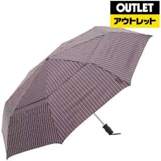 【アウトレット品】 折りたたみ傘 Vented Canopy(ベンテッドキャノピー) ベンガルストライプ 7523W82 [晴雨兼用傘] 【数量限定品】