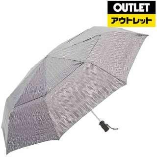 【アウトレット品】 折りたたみ傘 Vented Canopy(ベンテッドキャノピー) ヘリンボーン 7523B86 [晴雨兼用傘] 【数量限定品】