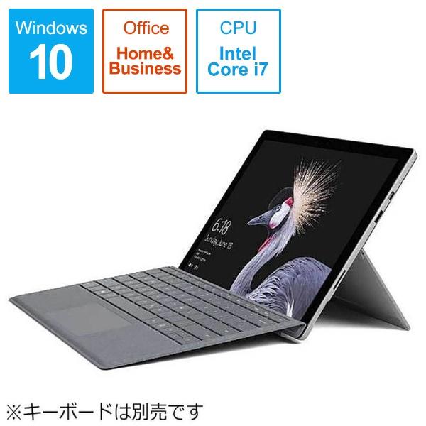 マイクロソフト Surface Pro 12.3型液晶 Core i7 512GB/16GBモデル FKH-00027 タブレットPC