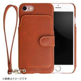 RAKUNI(ラクニ) LeatherCase foriPhone7/8 RAK-Ca7-01-car キャラメル RAK-Ca7-01-car キャラメル