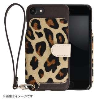 RAKUNI(ラクニ) LeatherCase foriPhone7/8 RAK-Ca7-01-leo レオパード