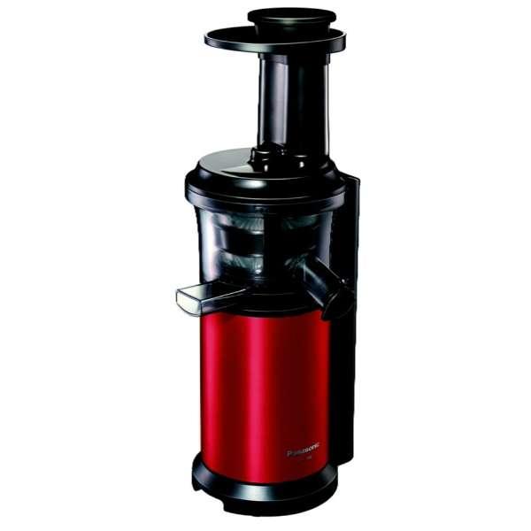 MJ-L400-R スロージューサー VITAMINSERVER(ビタミンサーバー) メタリックレッド