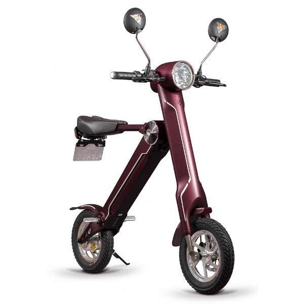 電動バイク BLAZE SMART EV(ワインレッド) 【沖縄と離島配送不可】