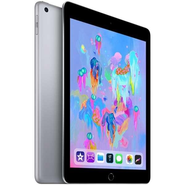 iPad 9.7インチ Retinaディスプレイ Wi-Fiモデル MR7F2J/A(32GB・スペースグレイ) [32GB] (2018)
