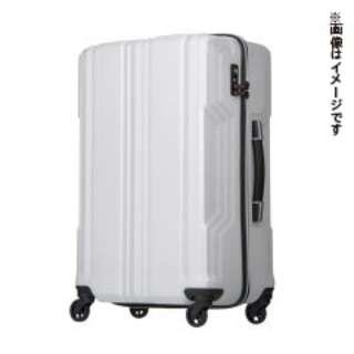 新素材【PCファイバー】を採用 TSAロック搭載 ジッパーキャリー(57L) 5603-59 ホワイト