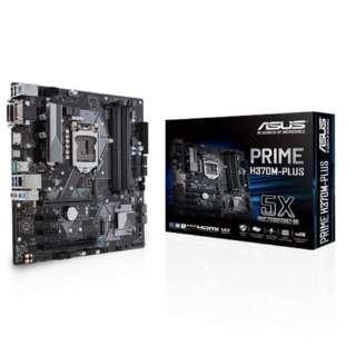 マザーボード  Intel H370チップセット搭載 LGA1151対応 PRIME H370M-PLUS [MicroATX]