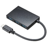 USB-3TCH9BK USBハブ ブラック [USB3.0対応 /4ポート /バスパワー]