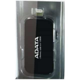 AUE710-32G-CBK USBメモリ i-Memory ブラック [32GB /USB3.1 /USB TypeA+Lightning /スライド式]