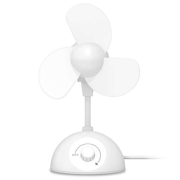 FAN-U181WH USB扇風機 ホワイト
