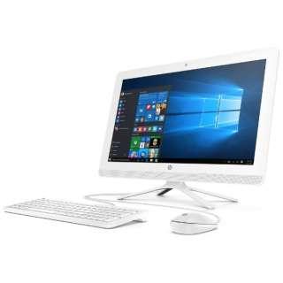 Z8F69AA-AACU デスクトップパソコン スノーホワイト [21.5型 /HDD:500GB /メモリ:4GB /2018年4月]