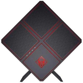 2NL23AA-AAAJ ゲーミングデスクトップパソコン OMEN X ブラック [モニター無し /HDD:3TB /SSD:512GB /メモリ:64GB /2018年4月]