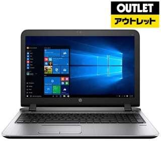 【アウトレット品】 15.6型ノートPC[Win10 Pro・Core i5・SSD256GB・メモリ4GB・Microsoft Office Personal]HP ProBook 450 G3 V6E11AV-AHBO 【生産完了品】