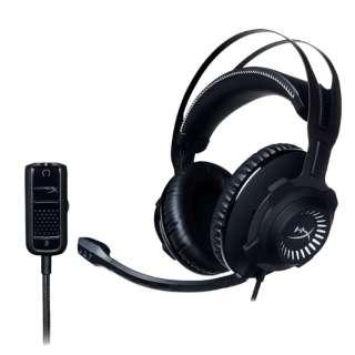 HX-HSCR-GM ゲーミングヘッドセット HyperX ガンメタル [φ3.5mmミニプラグ /両耳 /ヘッドバンドタイプ]