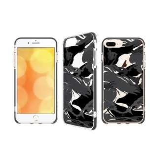 PRISMART foriPhone8Plus/7Plus/6sPlus/6Plus/ミリタリーブラック