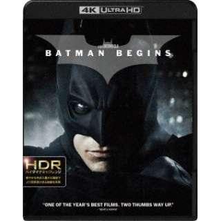 バットマン ビギンズ 4K ULTRA HD&ブルーレイセット 【Ultra HD ブルーレイソフト】