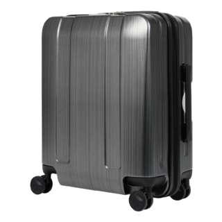 大容量スーツケース LEGEND WALKER(レジェンドウォーカー) 5087-48-MBK メタリックブラック [40L]