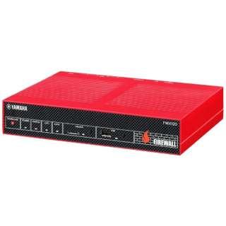 有線ブロードバンドルーター[4ポート・Gigabit対応] ファイアウォール FWX120/CM レッド