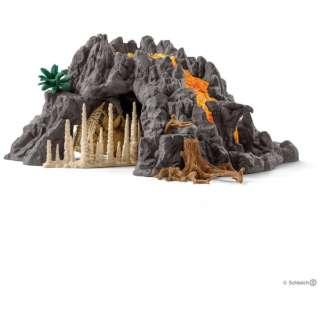 シュライヒ 42305 大火山とティラノサウルス恐竜ビッグセット