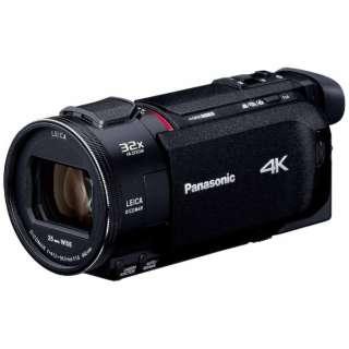 HC-WXF1M ビデオカメラ ブラック [4K対応]