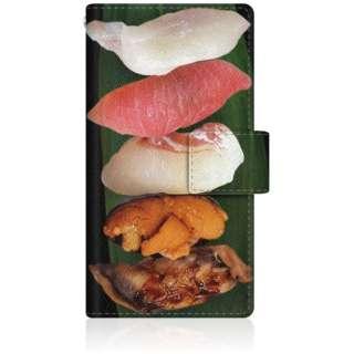 CaseMarket iPod-touch6 スリム手帳型ケース 鮨手帳 毎度!お寿司です。 iPod-touch6-BCM2S2554-78
