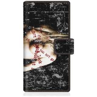 CaseMarket iPhoneX スリム手帳型ケース レディー ヌード アメリカン ロックンロール キュート iPhoneX-BCM2S2122-78