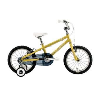 16型 子供用自転車 LGS-K16(220mm/MUSTARD/シングルシフト)【適応身長:95~115cm】 【組立商品につき返品不可】