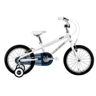 16型 子供用自転車 LGS-K16(220mm/LG WHITE/シングルシフト)【適応身長:95~115cm】 【組立商品につき返品不可】