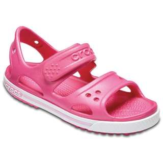 9d24d66edf2 It is 18.5cm Paradise Pink X Carnation) 14854 sandals Kids Crocband II  Sandal(C12 for child