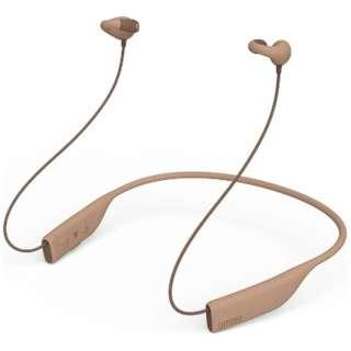 ブルートゥース イヤーカフ イヤホン ambie Toypu Brown AMBT01TC [リモコン・マイク対応 /ワイヤレス(ネックバンド) /Bluetooth]