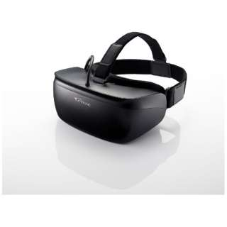 「Steam VR」対応 ヘッドマウントディスプレイ GTCVRBK1 【ビックカメラグループ独占販売】