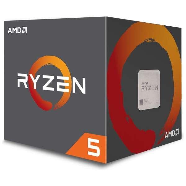 〔CPU〕 AMD Ryzen 5 2600X with Wraith Spire cooler YD260XBCAFBOX