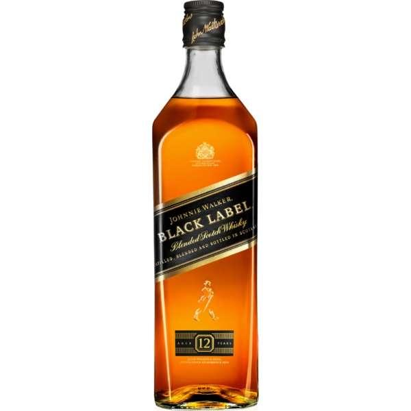 ジョニーウォーカー ブラックラベル 1000ml【ウイスキー】