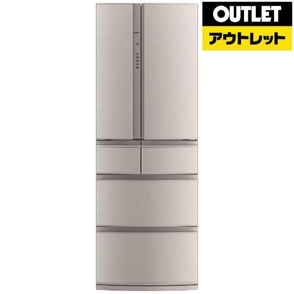 【アウトレット品】 6ドア冷蔵庫 (461L) MR-RX46A-F フローラル 「置けるスマート大容量」 【生産完了品】