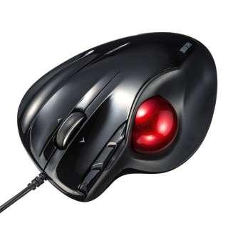 マウス ブラック MA-TB44BKN [レーザー /有線 /5ボタン /USB]