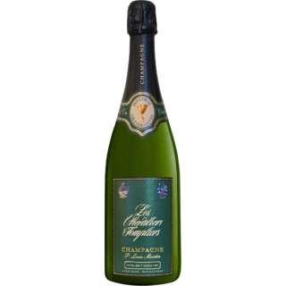 [ネット限定特価] レ・シュヴァリエ・テンプリエ エクストラ・ブリュット グラン・クリュ NV 750ml【シャンパン】