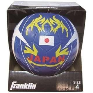 フランクリン 4号JAPANサッカーボール YELLOW