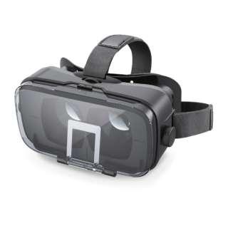 VRグラス 多機能色収差補正 スマートフォン用[4.0~6.0インチ] P-VRGR03BK