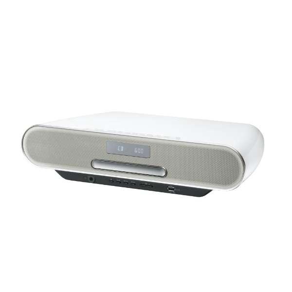 ミニコンポ SC-RS60-W ホワイト [ワイドFM対応 /Bluetooth対応 /ハイレゾ対応]